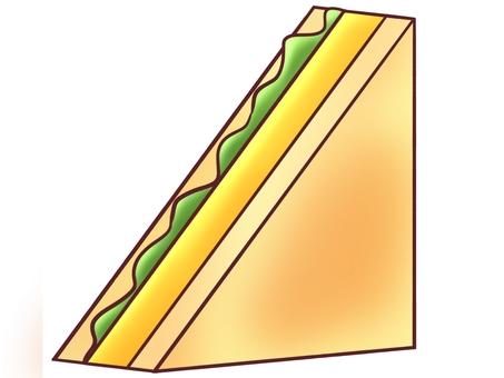 Egg sandwich (hot)
