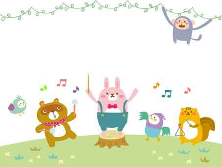 숲의 음악대