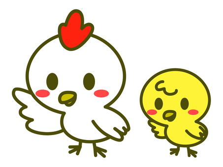 Rooster illustration 07