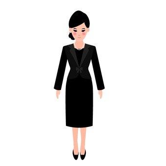 정장 여성 2