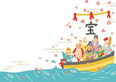 Flowering Shichifukujin (2019)