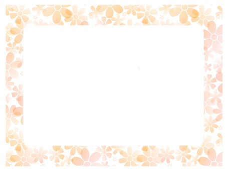 Flower simple frame