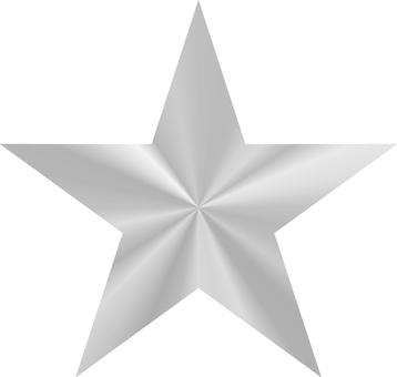 Star _ metallic_ silver