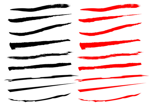 Various under bars (brush)