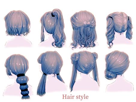 Hair style 8