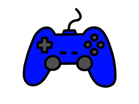 Controller blue