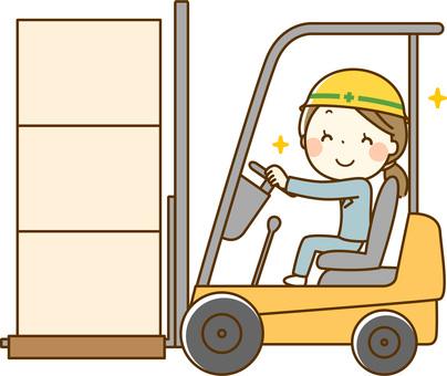 Fork lift driver _ Women