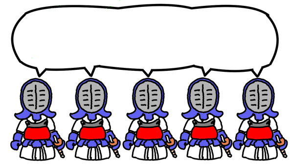 Mame swordsman group fighting character no character