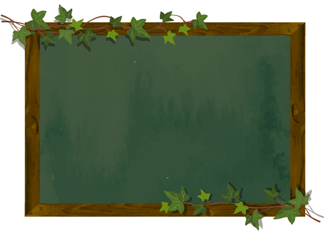 Cafe-like blackboard frame 2