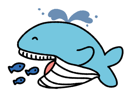 물고기를 먹는 고래