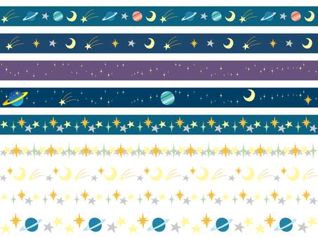 Space line set