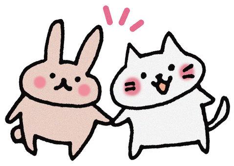 A good friend Neko Usagi