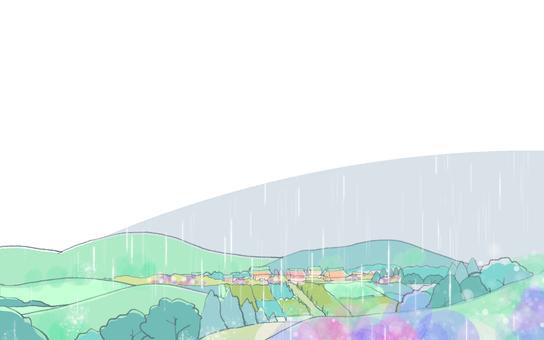 雨季的風景