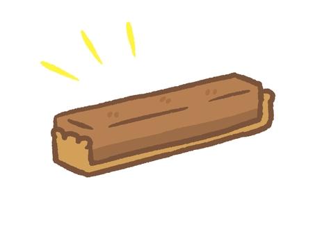 スティックケーキ チョコタルト