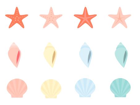 Seashell variety