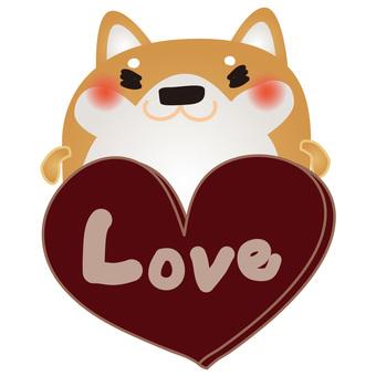 Shiba Inu Love 1