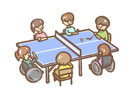Table tennis valley