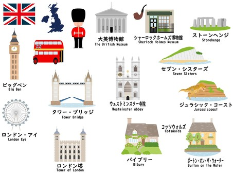 British tourist destinations