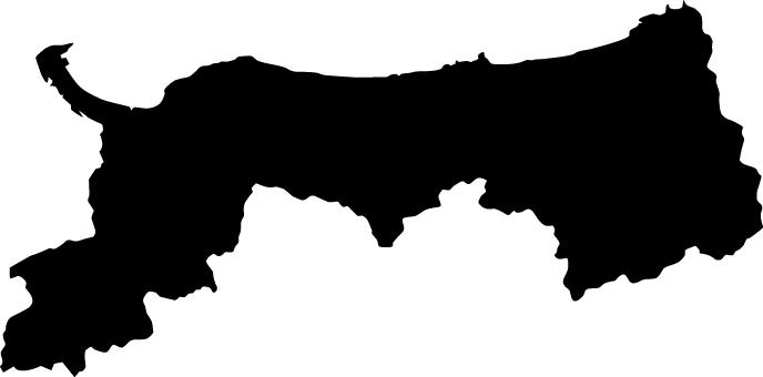 Tottori Prefecture _ Silhouette _ black
