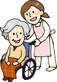 Nursing care (wheelchair 1)
