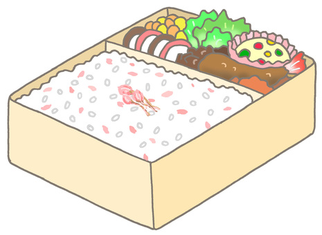 Sakura lunch box