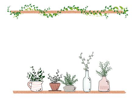 Houseplant frame 04
