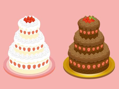 Three-tier cake parts_CS5