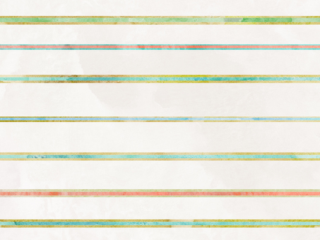 Watercolor stripe wallpaper ②