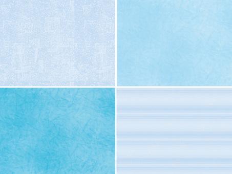 Material Texture Blue series set