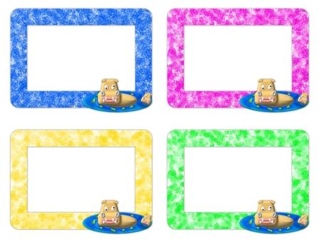 Hippopotamus frame (2112)