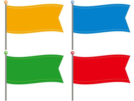 61004.旗,横長1