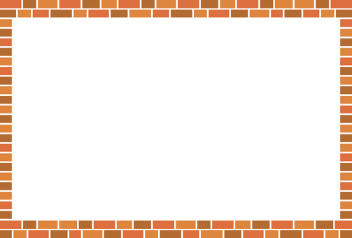 Simple brick-like frame 1