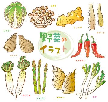 Vegetable illustration 1
