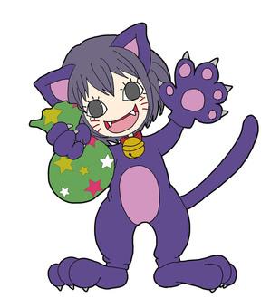 Halloween (cat) color