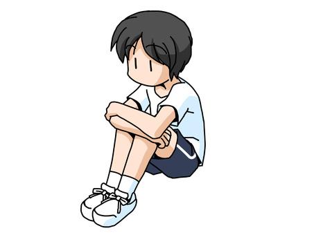 Physical sitting (boy)