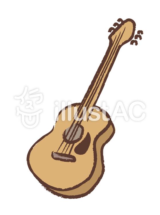 手書きギター アンティーク