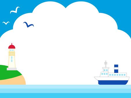 Summer sea and sky 3