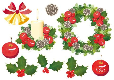 クリスマス リース エトセトラセット
