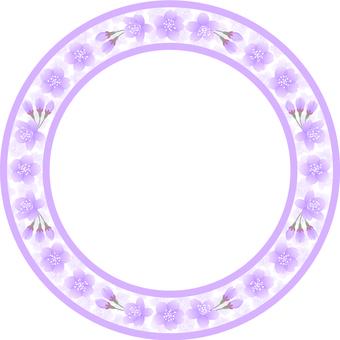 櫻花框架(淡紫色)