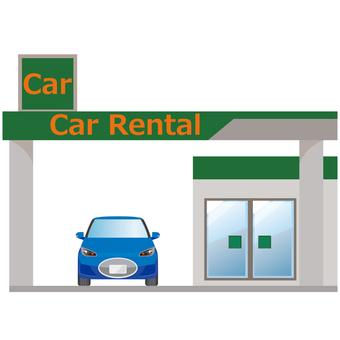 Car rental store