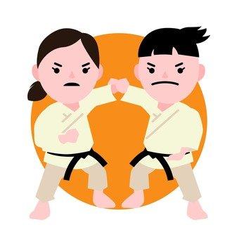 Karate games (2)