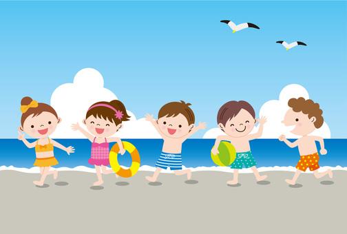 海边的孩子
