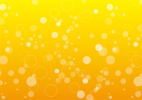 Seamless pattern bubbles beer background