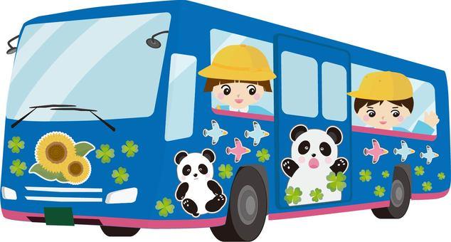 유치원 버스 원아