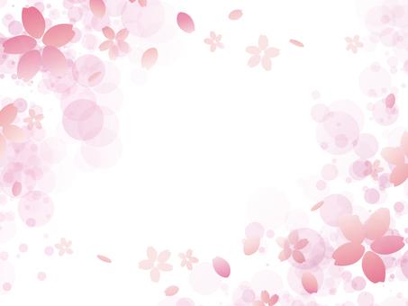 フレーム「桜4」