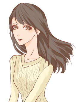 Female - Hairstyle Long Hair