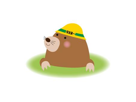 Illustration of mole