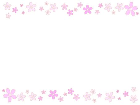 Cherry blossom frame 5