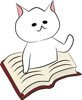 Nyanko from the book world