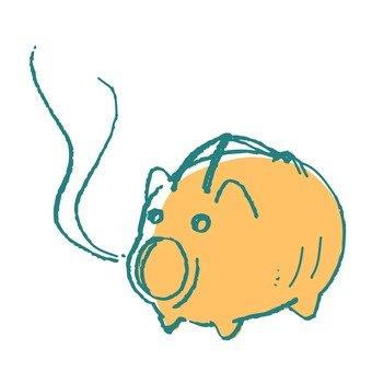 蚊遣 돼지